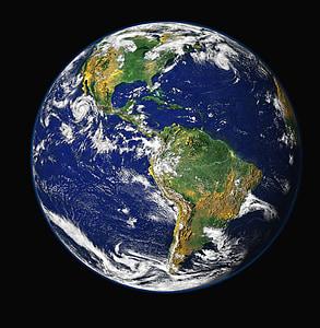 terra, planeta blau, globus, planeta, món, espai, univers