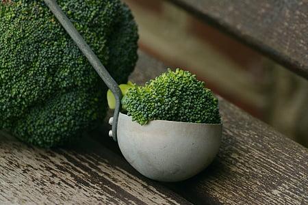 brokuły, warzywa, zdrowe, kucharz, odżywianie, Frisch, wegańskie
