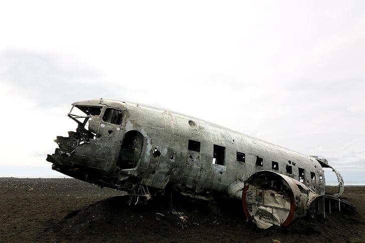 aircraft, wreck, crash landing, darkness, mystical, plane crash, airbus