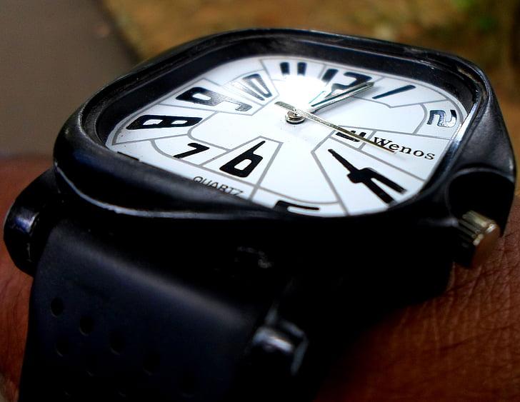 veure, rellotge de canell, cavallers, rellotge, temps, canell, rellotge de polsera
