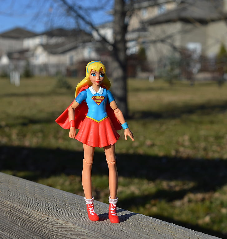 supergirl, superhero, girl, power, strength, costume, female