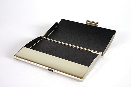 business card holder, business cards, address, phone, box, container, isolated