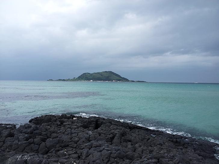 illa de Jeju, Mar d'illa de Jeju, Mar, Mar maragda, illa de mar