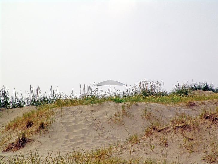 stilles, vesnice, Duna, písek, léto