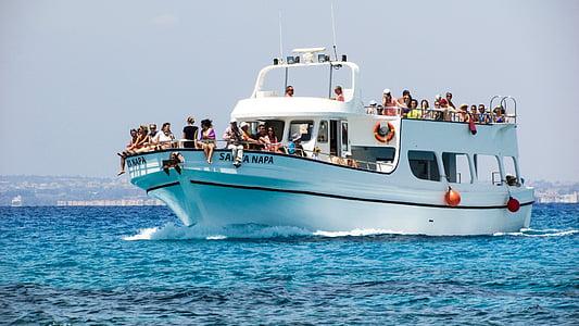kryssning båt, turism, semester, havet, helgdagar, Leisure