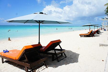 platja, platja Boracay, Mar, posta de sol, sorra, vacances, l'estiu