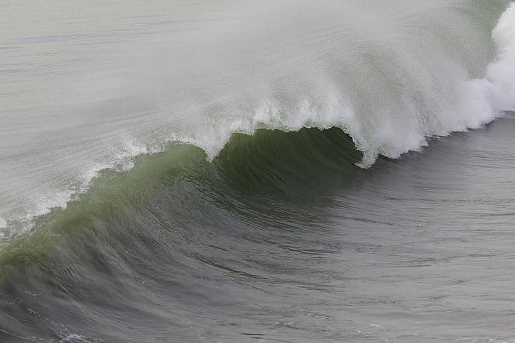 laine, Ocean, loodus, Beach, Huntington, Vaikse ookeani, California