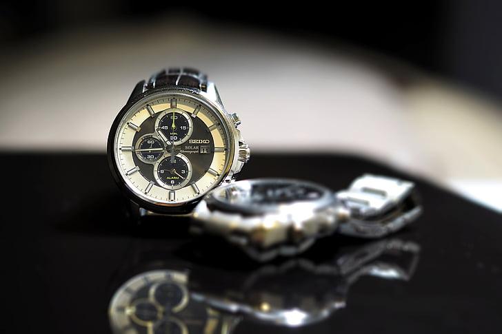 rellotge de canell, dir el temps, temps, precisió, precisa, veure, rellotge