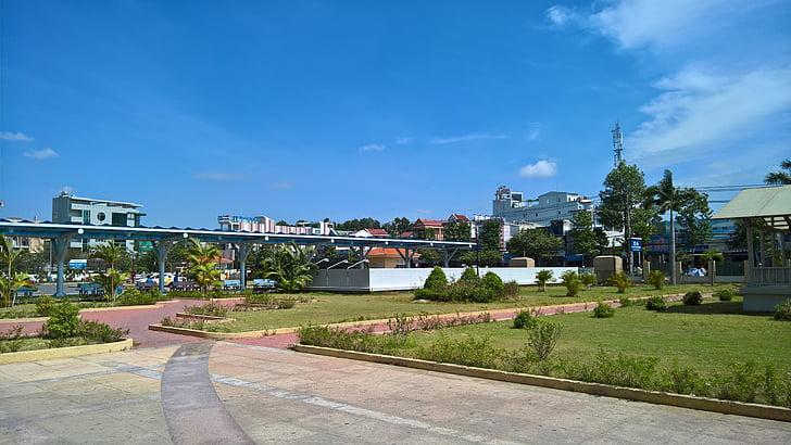 Vietnam, vietnamites, Hospital, dongnai, treballant, arquitectura
