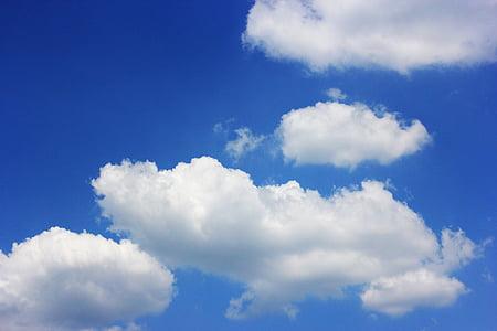 taivas, pilvi, Sunshine, kesällä, aurinko, Soul, sininen