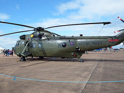 seaking, Reial Armada, helicòpter, en Chopper, rotor, transport, voltar