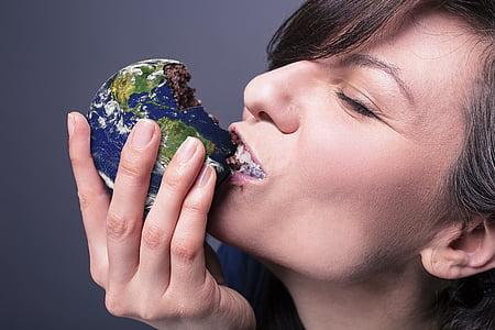 menjar, món, terra, medi ambient, global, fam, aliments