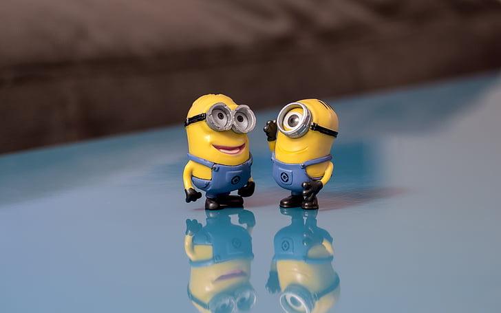 Minions, hovoriť, úsmev, Konverzácia, šťastný, komunikácia, milý