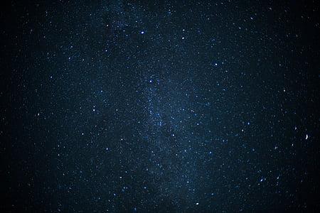 Star, Mælkevejen, Sky, nattehimlen, stjernehimmel, nat, stjerne - rummet