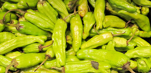 chili peppers, hot, spicy, green, food, heat, fresh