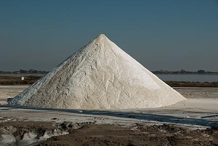 Camargue, äge surnud, soola, füsioloogilise lahuse, soola mägi, Õues, tööstus