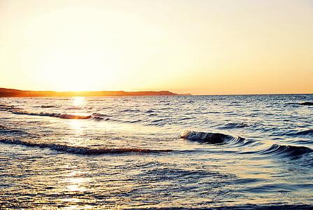 havet, stranden, Holiday, Sand, vatten, kusten, tillsammans