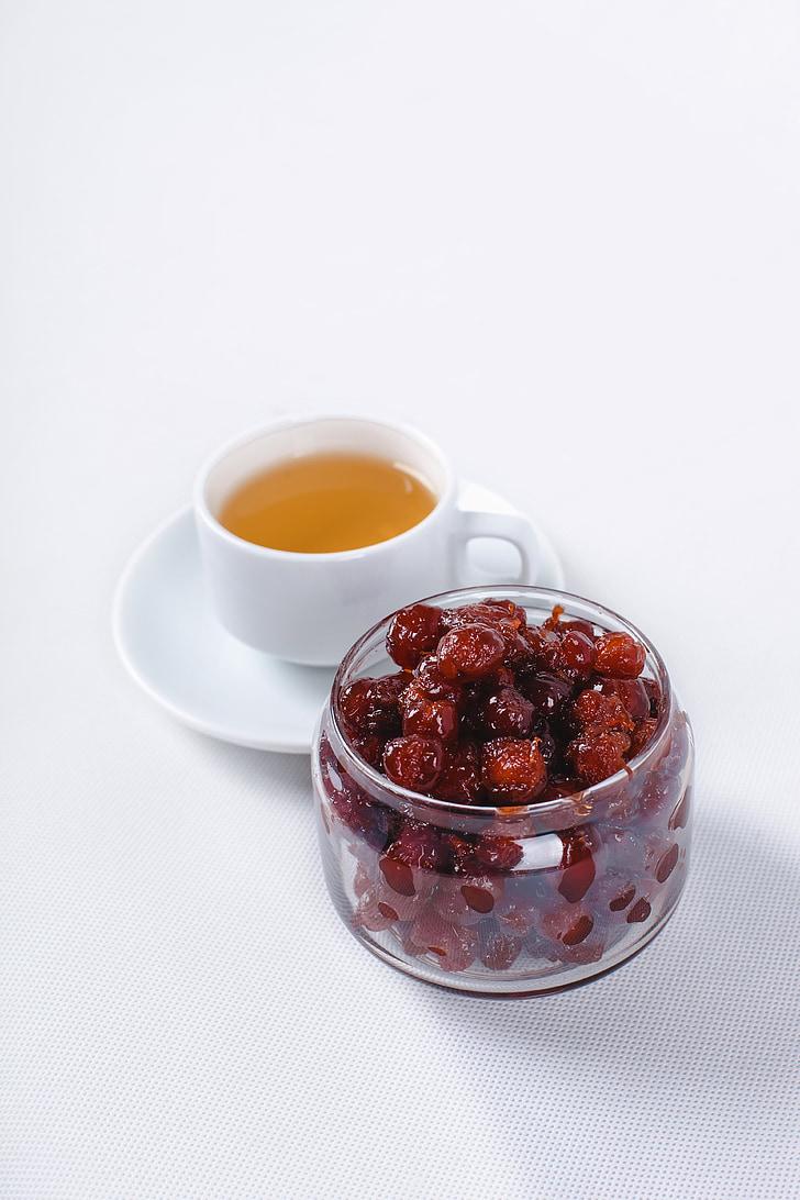 frutti di bosco, tè, Foodie, vita, bellezza, scena, cibo