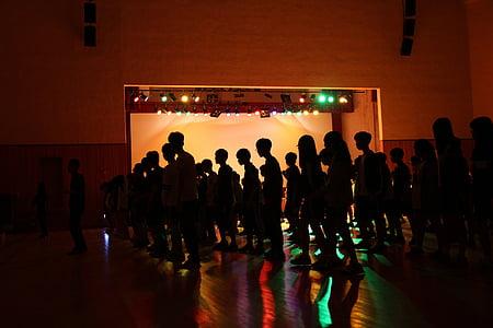 khiêu vũ, Silhouette, hiệu ứng ánh sáng, Bridge, bàn chân, ván sàn, chiếu sáng
