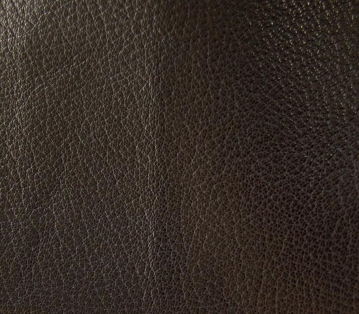 cuir, negre, fosc, gris negre, textura, estructura, fons