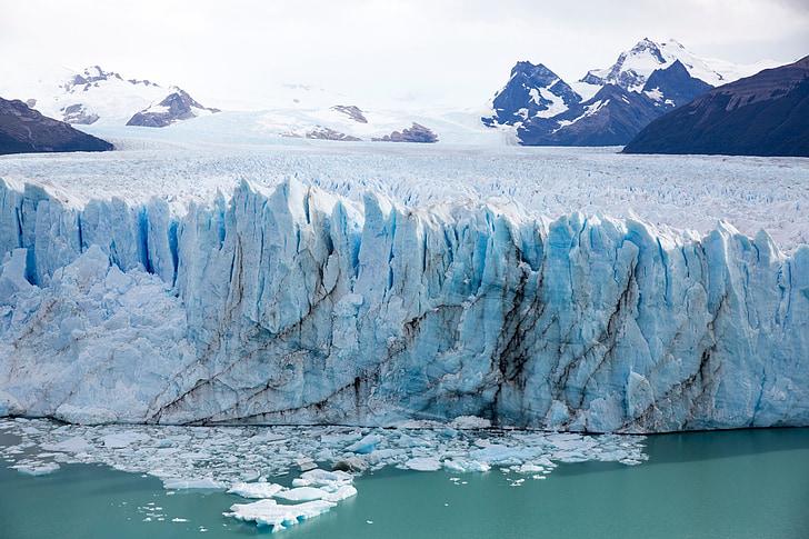 Alaska, iceberg, glacera, clima, congelat, Mar, escèniques