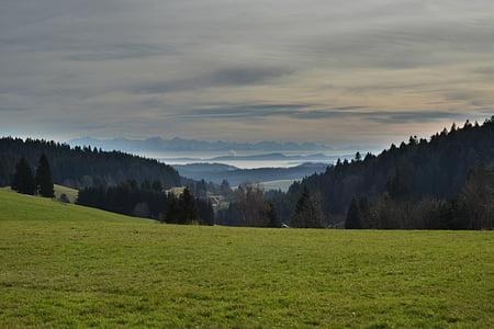 alpine, autumn, mountains, switzerland, landscape, autumn mood