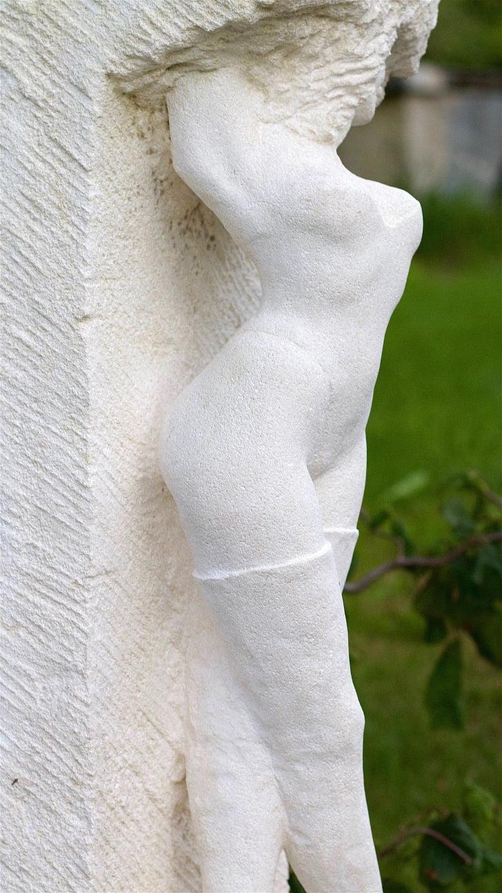 figura, maluc, mama, dona, eròtica, atractiu, estàtua