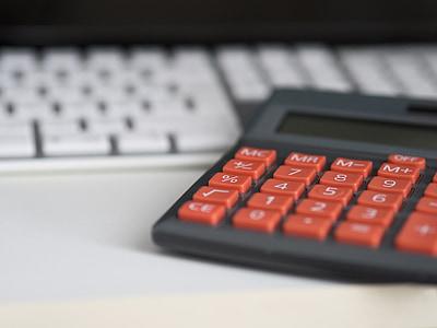 Бизнес, Калкулатор, изчисление, застраховка, финанси, счетоводство, перо