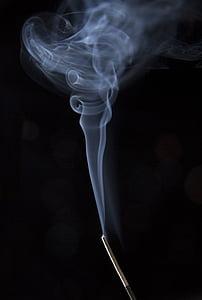 røyk, svart hvitt, aroma, Steam, slappe av, avslapning, røyk - strukturen