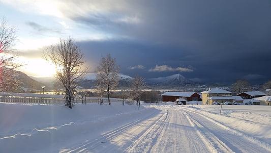 l'hivern, paisatges d'hivern, fotografia de paisatge, Escandinàvia, nòrdics, Noruega, en el fred