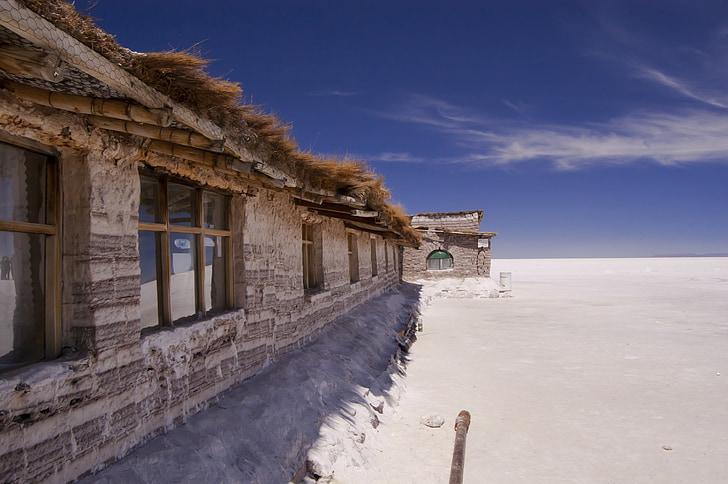 Boliivia, Uyuni, soola hotel