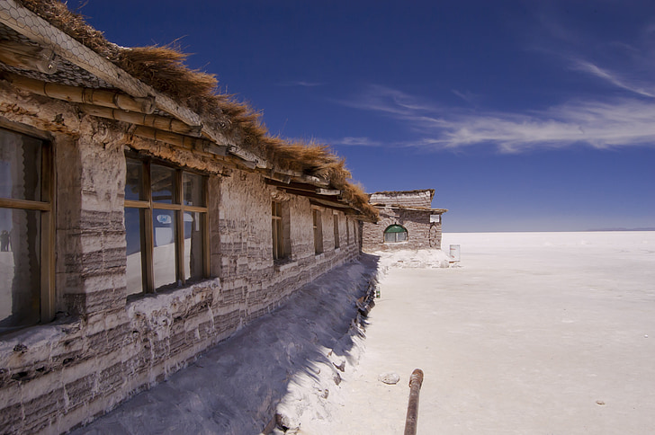 Болівія, Уюні, Готель сіль