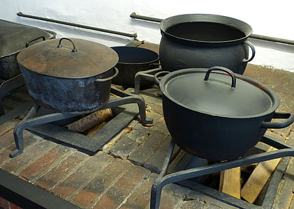 cuina, cuinar, Històricament, olla, caldera, pressupost, aparells de cuina