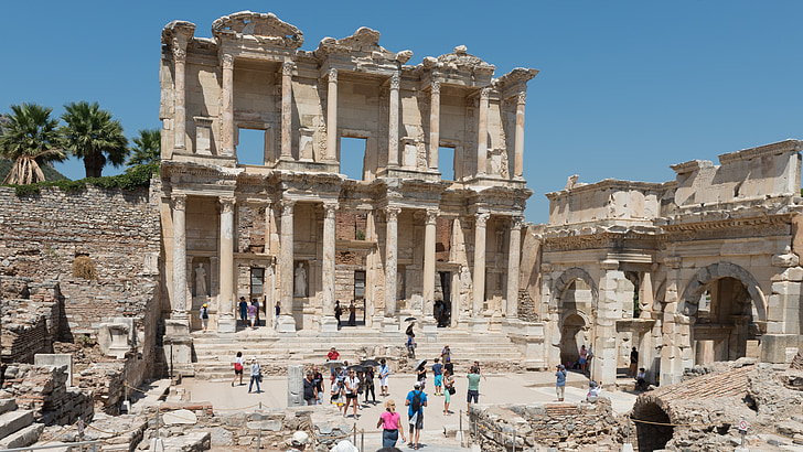 ephesos, Ephesus, Türgi, varemed