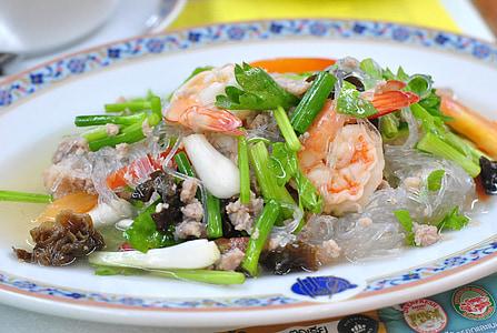 Amanida de fideus, aliments de Tailàndia, plat
