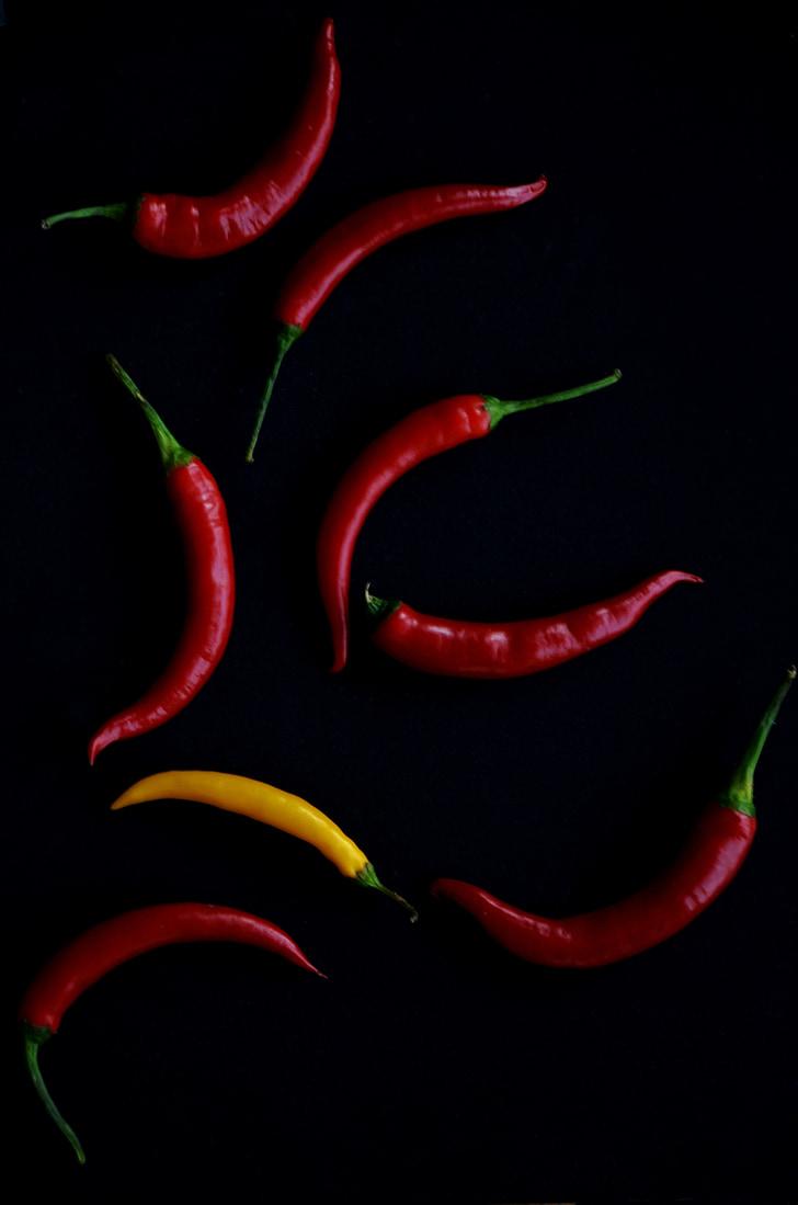 pebre, calenta, picant, Xile, aliments, espècies, ingredient
