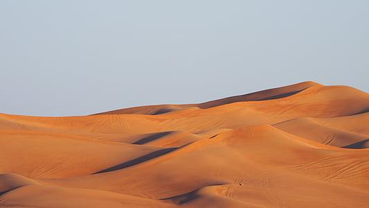 poušť, duny, Hills, písek, Sunshine