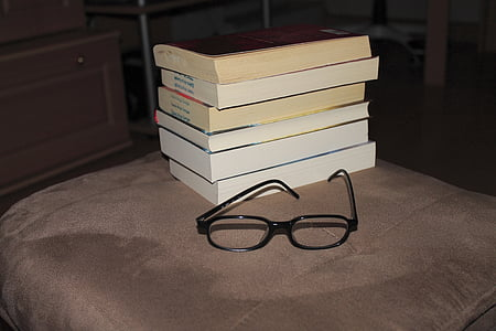 books, education, book, reading glasses, formed, read, glasses