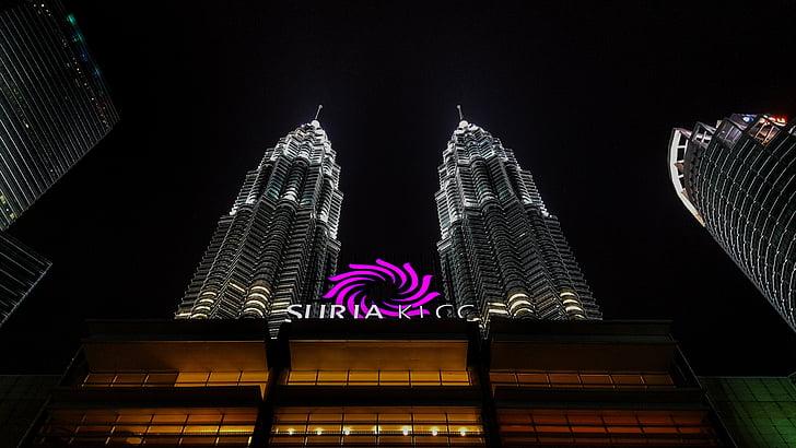 klcc, building, iconic, cityscape, malaysia, architecture, kuala