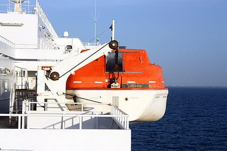 Danau, laut, sekoci, kapal, penyelamatan, asuransi, boot