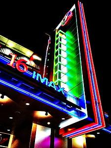 kino, filmu, teātris, teātris, krāsains, filmu, IMAX