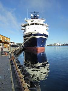 fartyg, Pier, hamn, Frakt, transport, fartyg, Frakt
