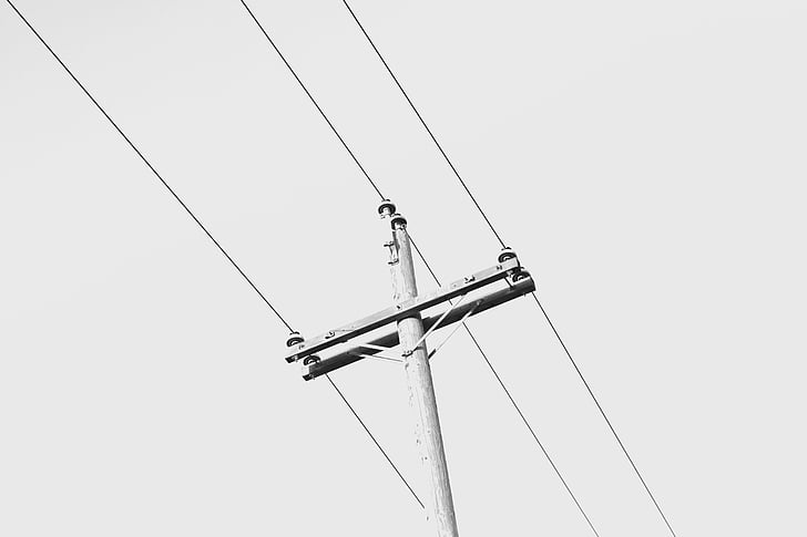 Free photo: electrical wiring, pole, electricity, electric, power ...