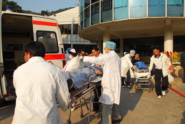 Hospital, brand uddannelse, at redde liv