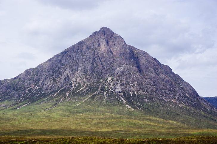 grama, paisagem, montanha, natureza, montanha rochosa, scenics, ao ar livre