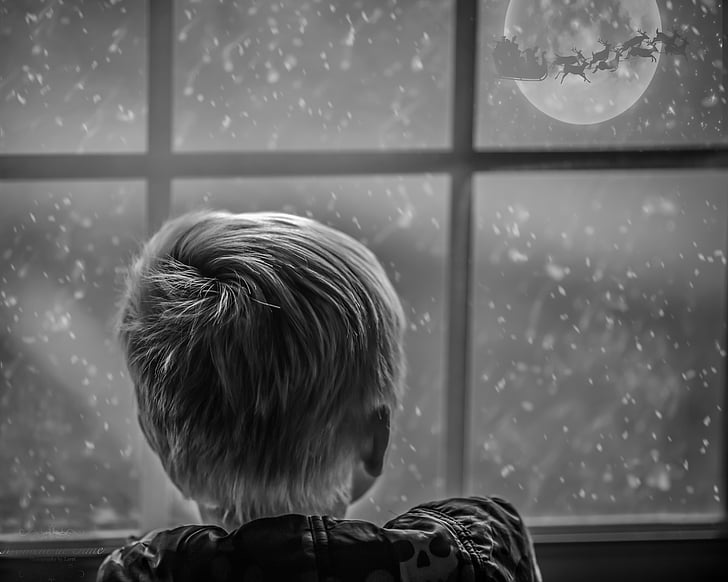 magical, childhood, christmas, fantasy, happy, child, holiday