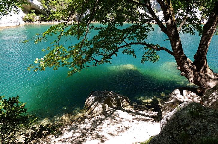 riu, l'aigua, canó, França, Provença