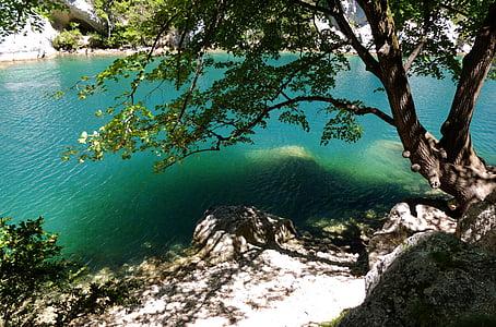 jõgi, vee, Canyon, Prantsusmaa, Provence