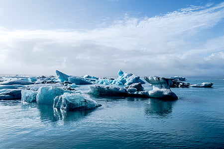 body, water, daytime, sea, ocean, snow, ice