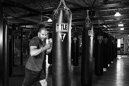 boxejador, arts marcials de boxa, boxa, combat, lluita, Marcial, esport